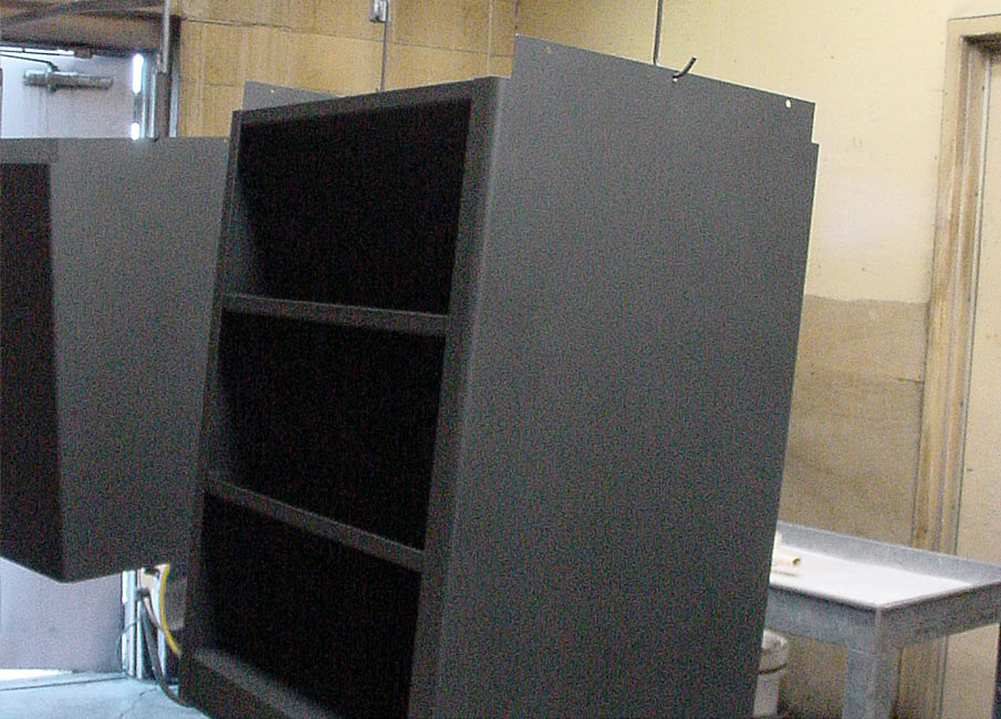 Loading of Cabinet